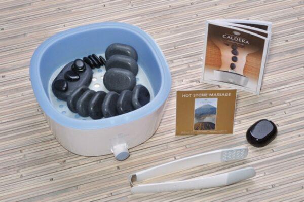 Home Set: Scaldapietre, pietre calde e accessori